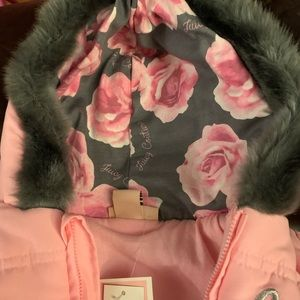 Juicy Couture snow suit.